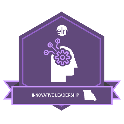 innovative leadership logo of face profile with embedded gear